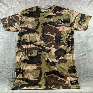 NEFF Royal Threads Camo Spotted T-shirt Size Mens